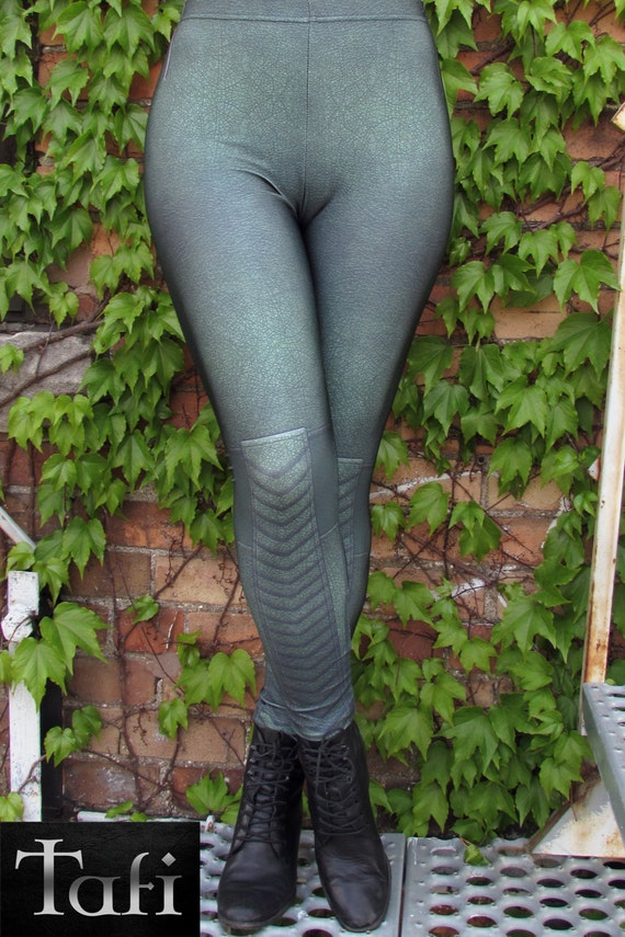 TAFI Green Arrow Leggings - Artemis or Oliver Queen Archer Costume Yoga Pants Galaxy DC Super Hero CosPlay Print