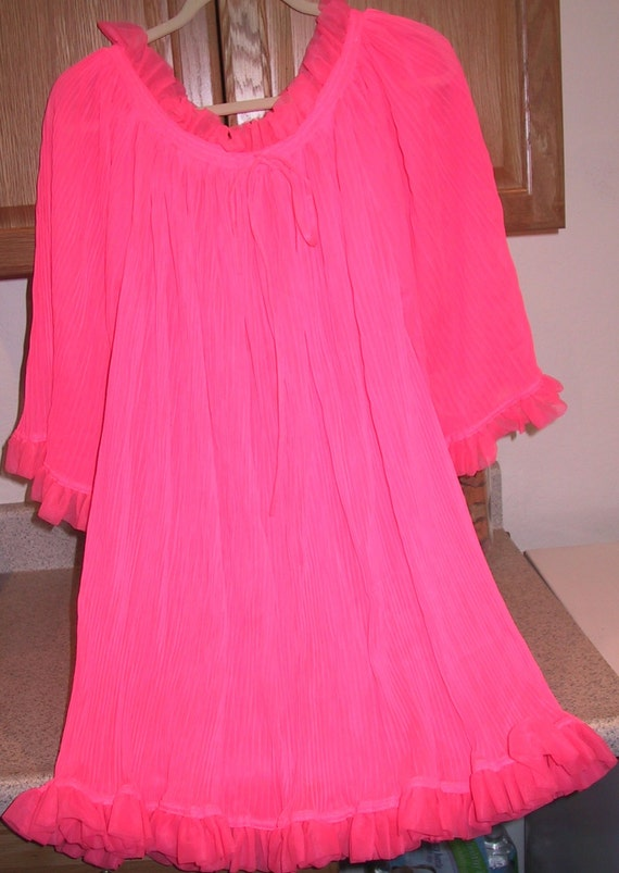 Small Hot Pink Nightie