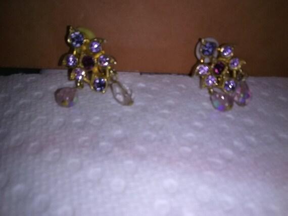 Vintage Joan Rivers Clip Earrings