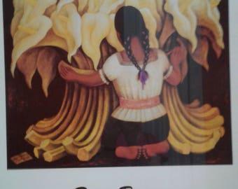 Vintage Diego Rivera Print