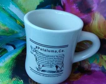 Petaluma, Ca. Cow Mug