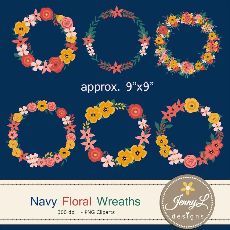 Wedding Flower Wreath Clipart Floral Wedding Flowers Flower image 0