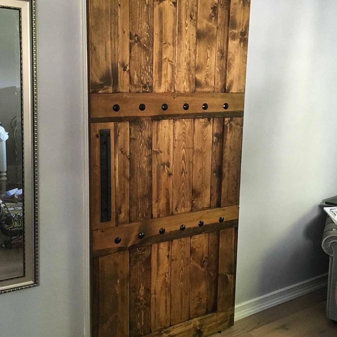 Reserved For Josie Sliding Wooden Door Barn Door W