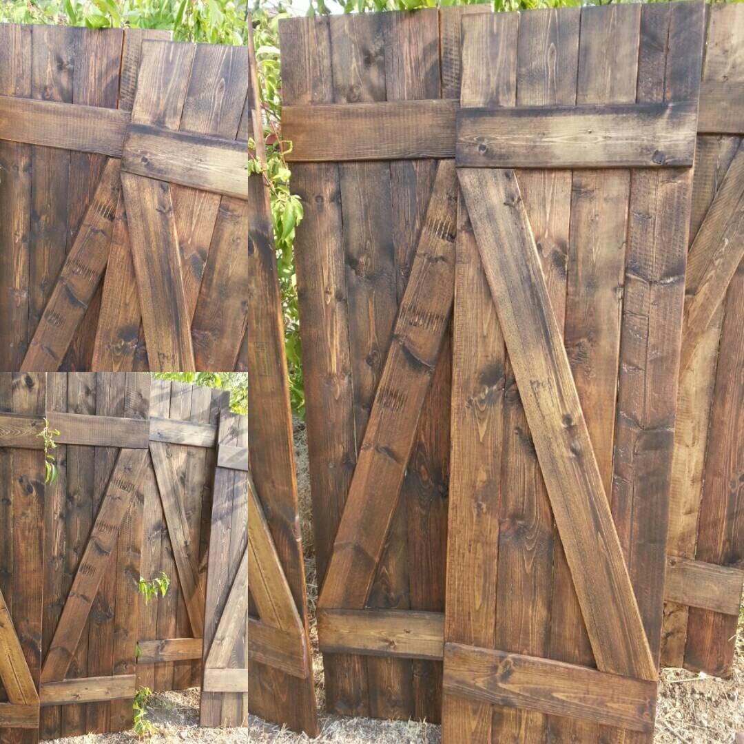 Z Bar Rustic Wood Shutters 60 Wooden Shutters Barnwood