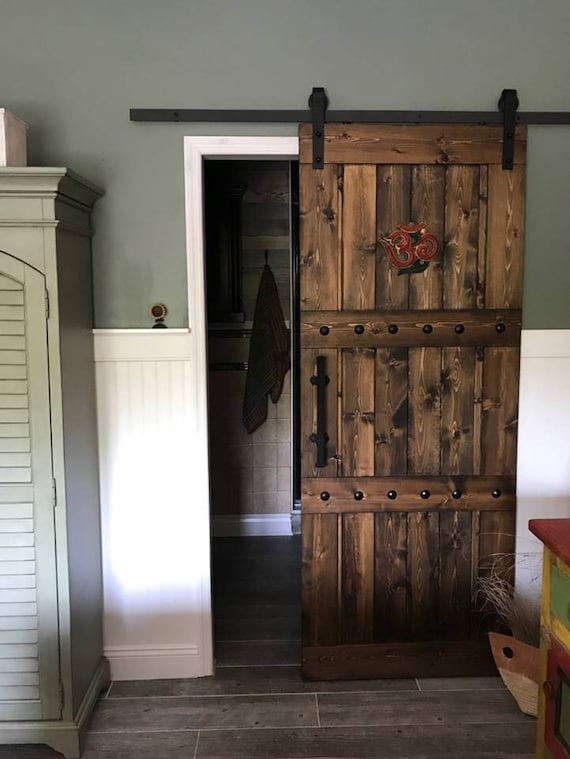 Ordinaire Horizon Interior Barn Door   Sliding Wooden Door   Barn Door W/ Hardware    Farmhouse Style Door   Rustic Barn Door   Barn Door Package