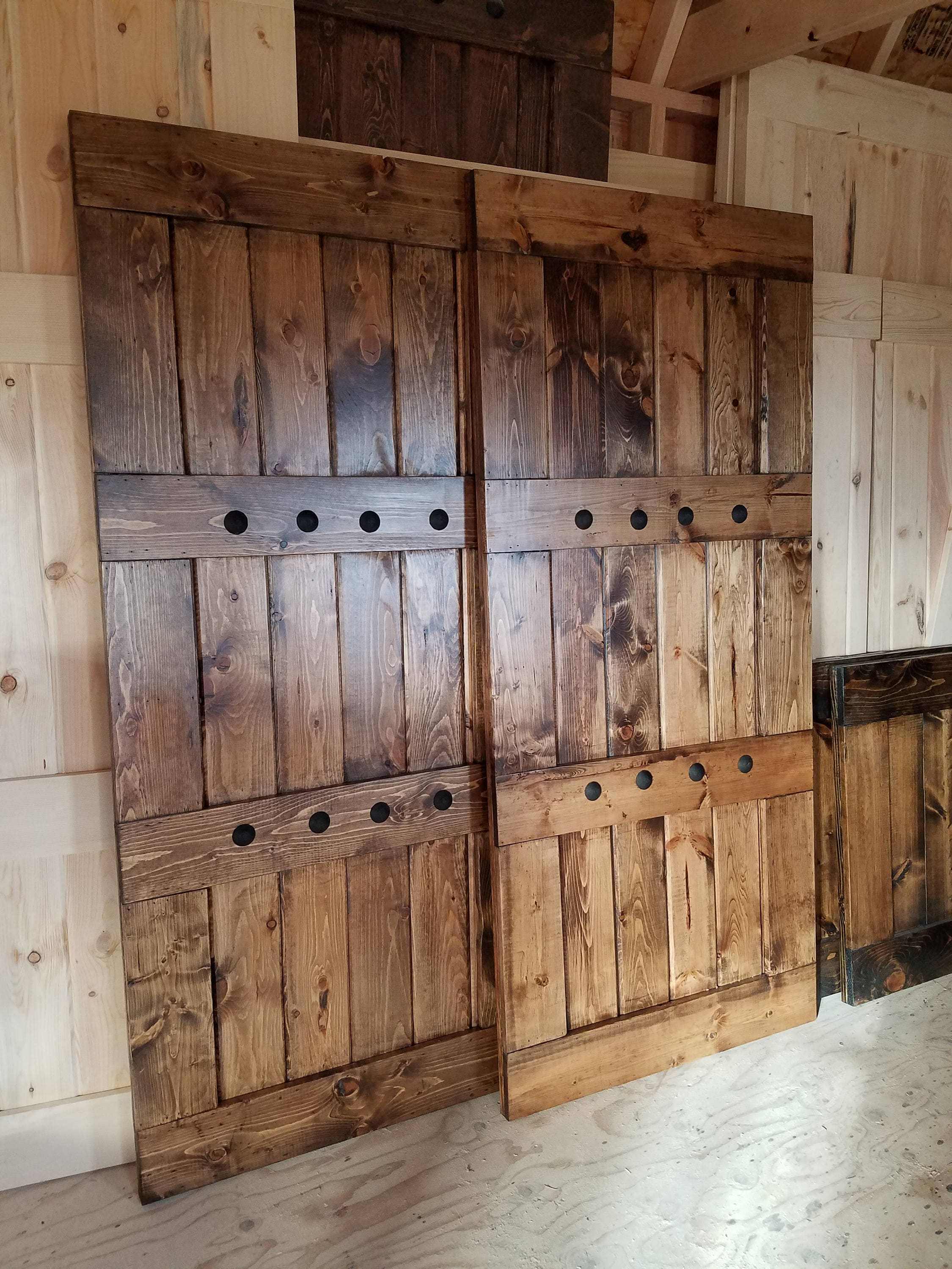 Interior Window Barn Door Sliding Shutters Barn Door