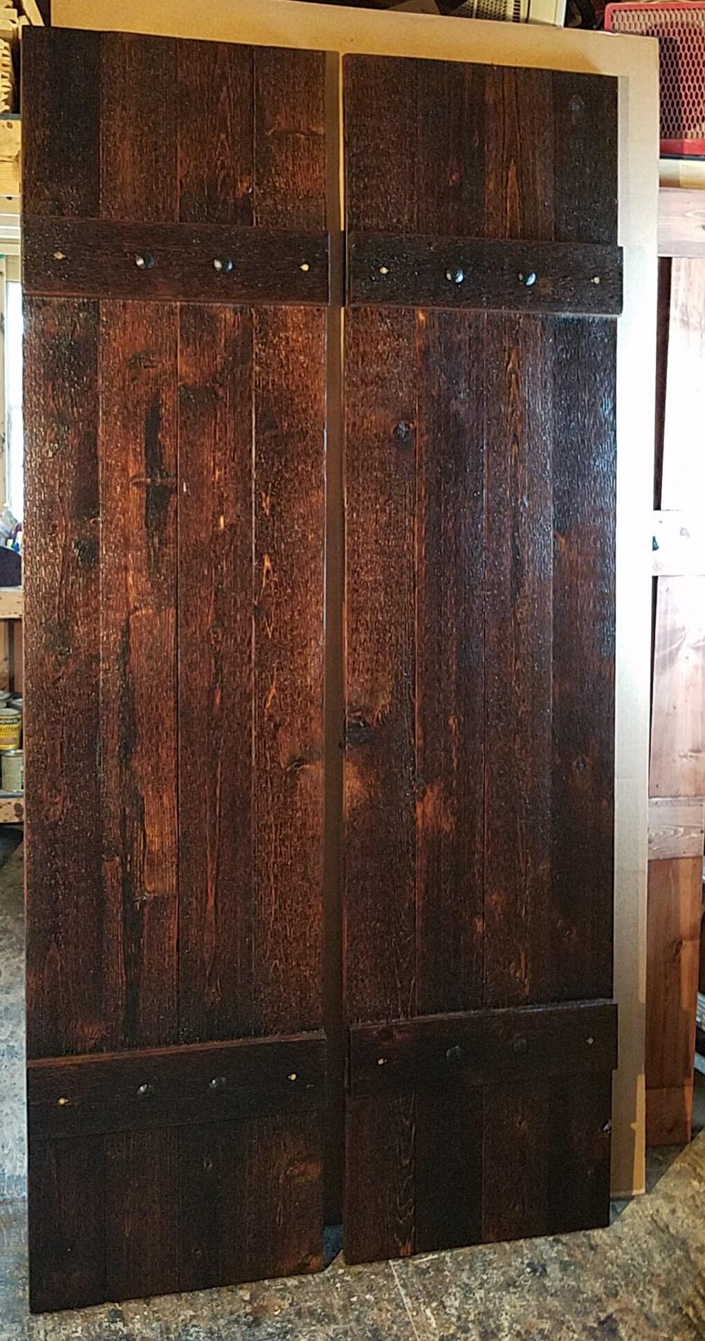 Rustic Cedar Shutters  Window Shutters  Primitive Shutters