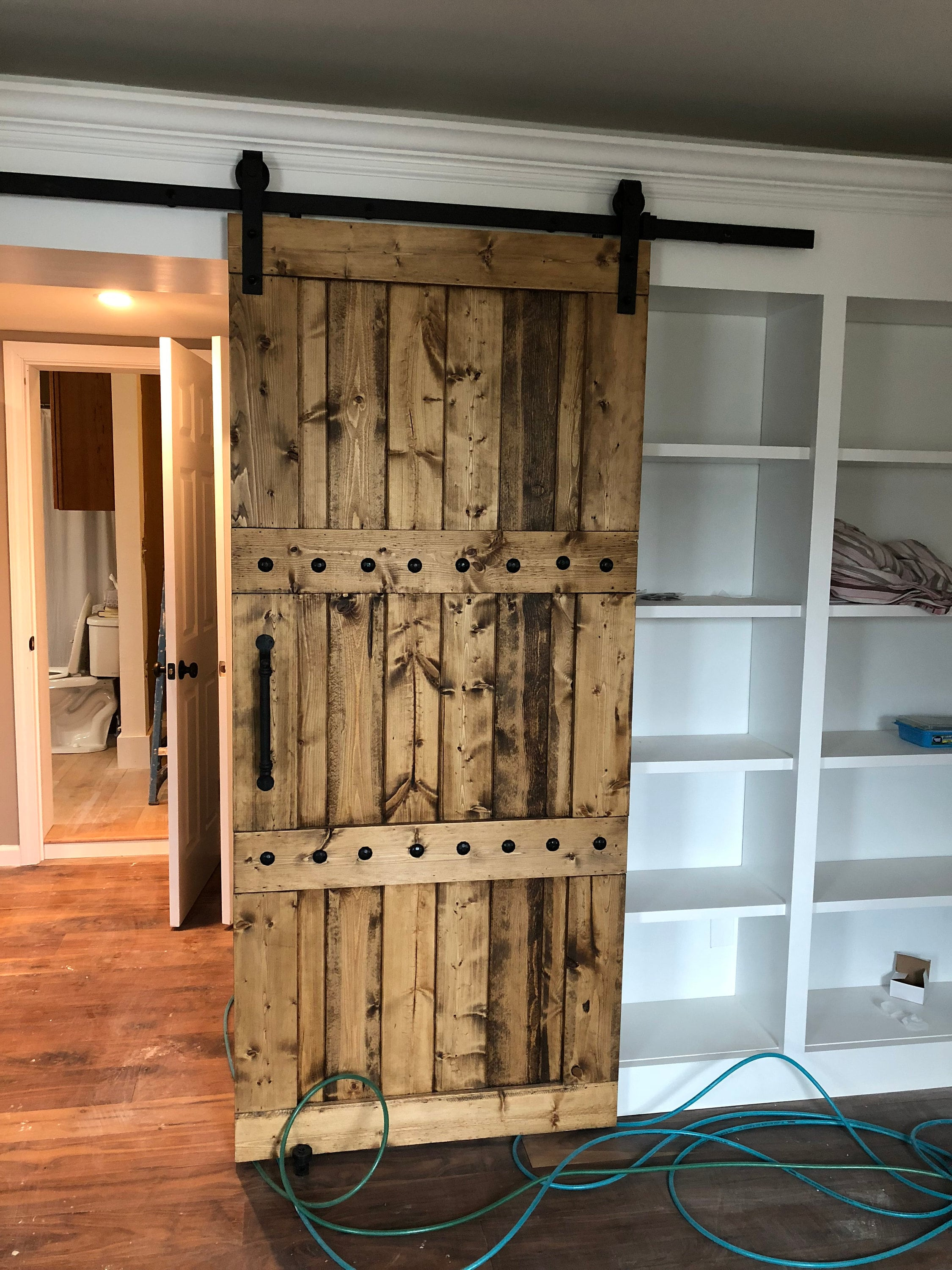 Horizon Interior Barn Door  Sliding Wooden Door  Barn