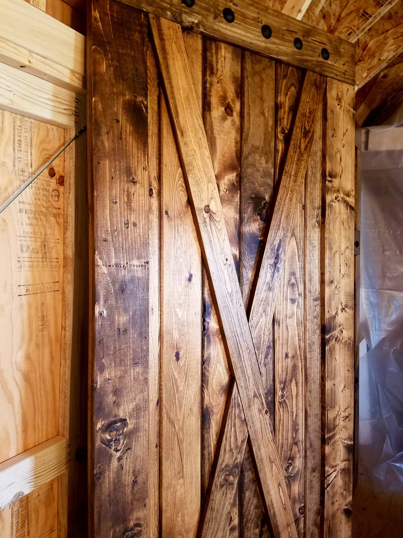 X Brace Barn Door