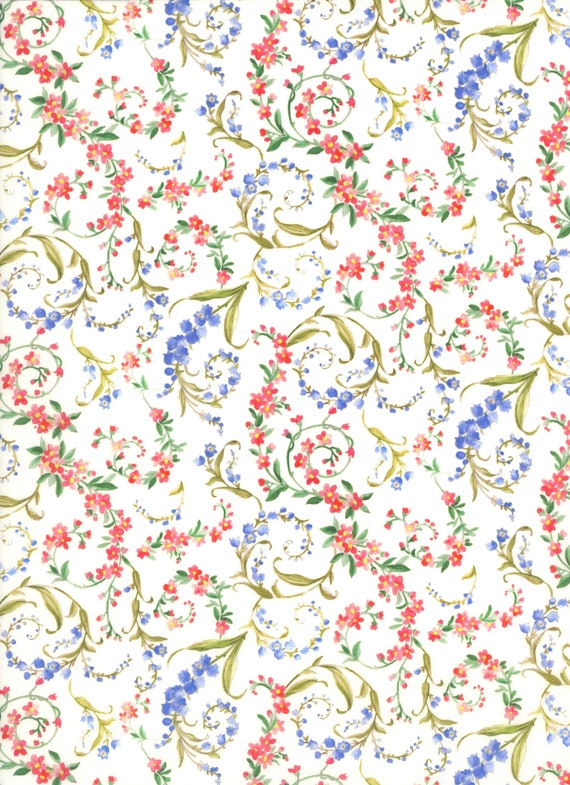 dresses Liberty Of London Cotton 100/% Tana Lawn /'Marco/' Red per metre