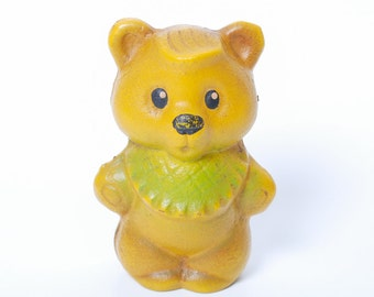 Vintage Russian Rubber Toy, the Bear (RT168)