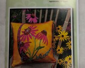 Wooly Lady Limited Edition Bloom Crazy Pillow Finished Size 16 Inches Square