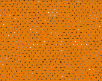 Pixie Square Dots Blender Goes With Boos and Ghouls Alicia Jacobs Dujet Arrow Fabrics 24299 S Orange
