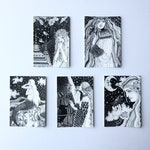 Starry Starling Series A6 Postcard Set