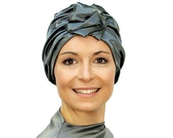 Fashionable chemo hats for women s hair loss. by SuburbanHeadwear ebf4fd4fa35
