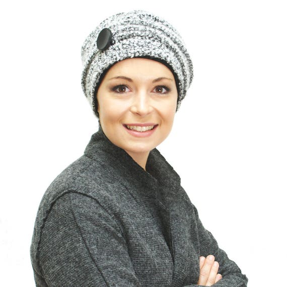 6c8c67bcf39 Chemo hat for cancer patients soft warm knit hat fully