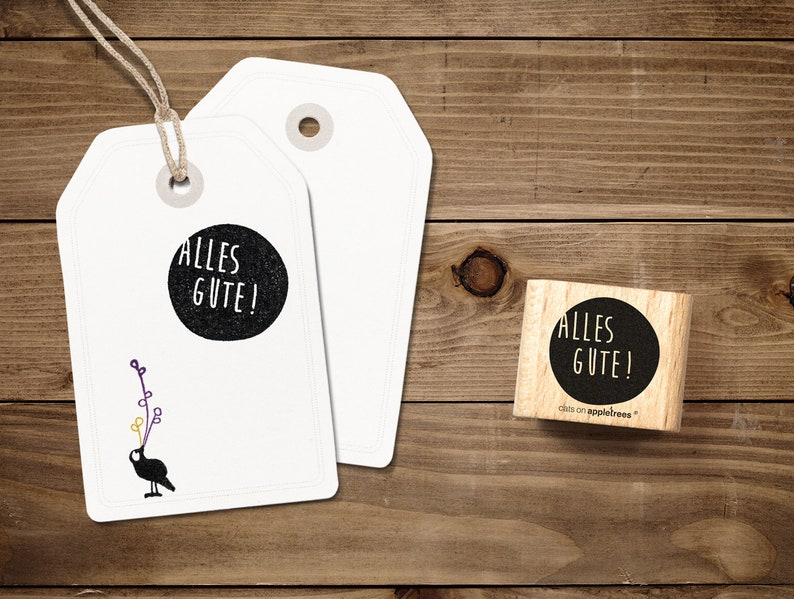 Typostempel All the best image 0
