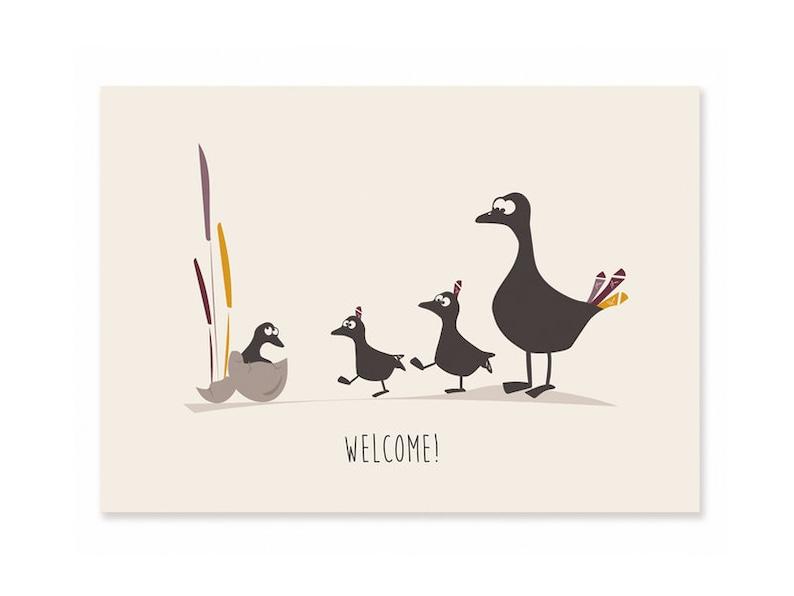Postcard Birth-Welcome image 0