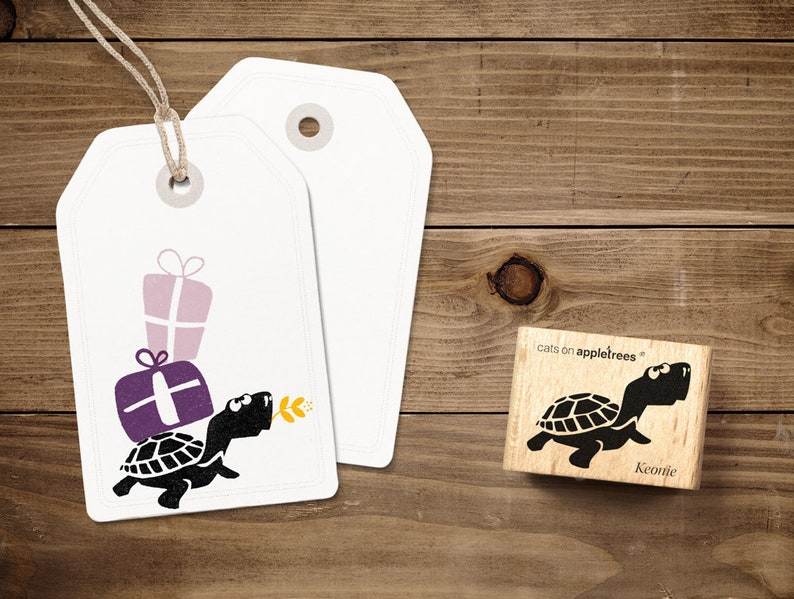 Stamp Turtle Keonie image 0