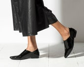 Women Shoes, Black Shoes, Leather Shoes, Pointed Flats, Flat Shoes, Leather Shoe Woman, Black Leather Shoes, Moroccan Shoes, Loafers, Mules