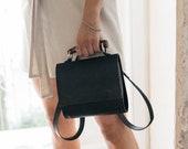Vegan Crossbody Bag With Top Handle By EllenRuben