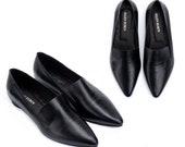 Leather Slip Ons, Pointed Flats, Elegant Shoes, Formal Shoes, Japanese Fashion, Designer Shoes, Leather Flats, Women Espadrilles, Ballerina