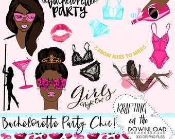 bachelorette clip art bachelorette clipart bachelorette african american planner girl clipart bachelorette party png file