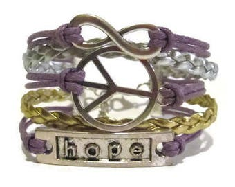 Infinity, Peace, Hope **Choose your Colors**