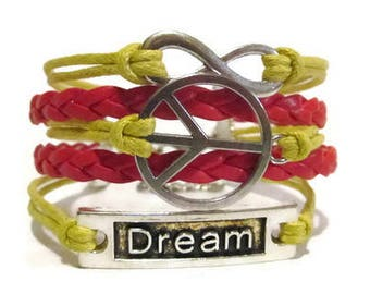 Infinity, Peace, Dream **Choose your Colors**