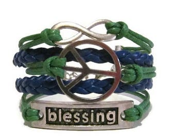 Infinity, Peace, Blessing **Choose your Colors**
