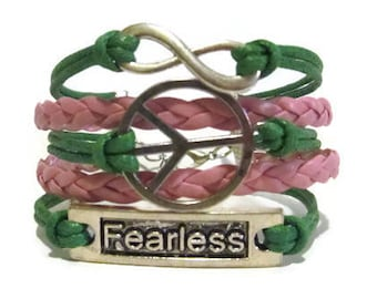 Infinity, Peace, Fearless **Choose your Colors**