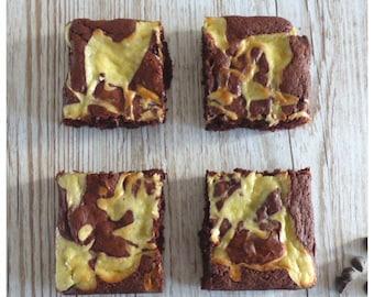 Red Velvet Cheesecake Brownies (Box of 4 or 9)