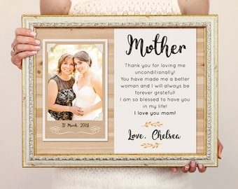 Mother Groom Frame Etsy
