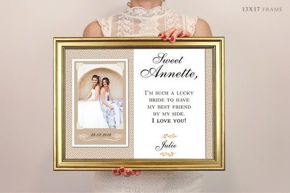 Wedding Gifts For Sister In Law: Sister In Law Wedding Gift Personalized Picture Frame
