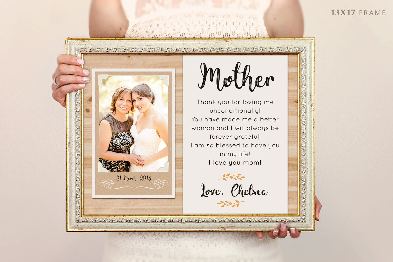Mutter der Braut-Rahmen personalisierte Bilderrahmen | Etsy