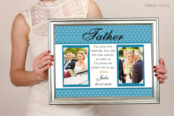Love My Daddy Picture Frame Personalized Fathers Day Etsy