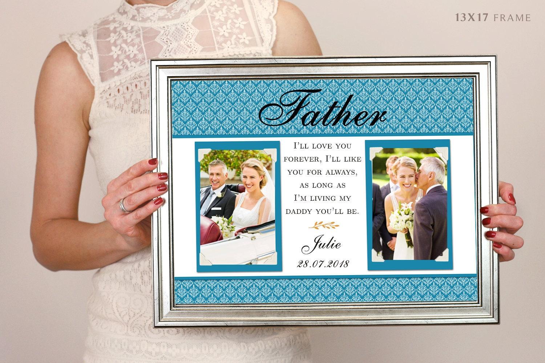 Liebe mein Papa Bilderrahmen personalisierte Vatertag | Etsy