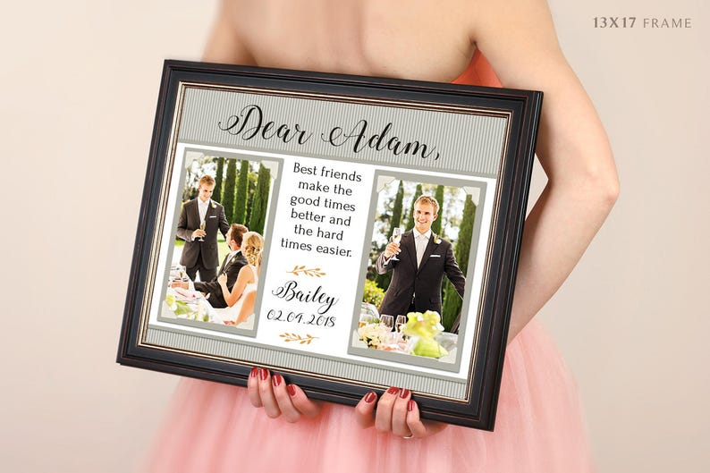 Going To College Best Friends Gift Long Distance Picture Frame For Moving Away Good Friends Are Hard To Find Impossible To Forget Quote