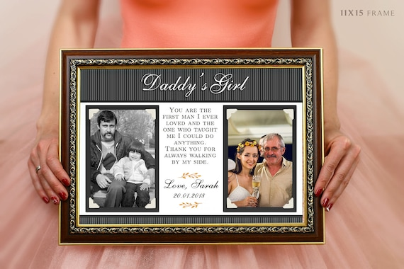 Forever Your Little Girl Dad Of All Our Dances Personalized Wedding Gift For Dad Gift For Father Of The Bride
