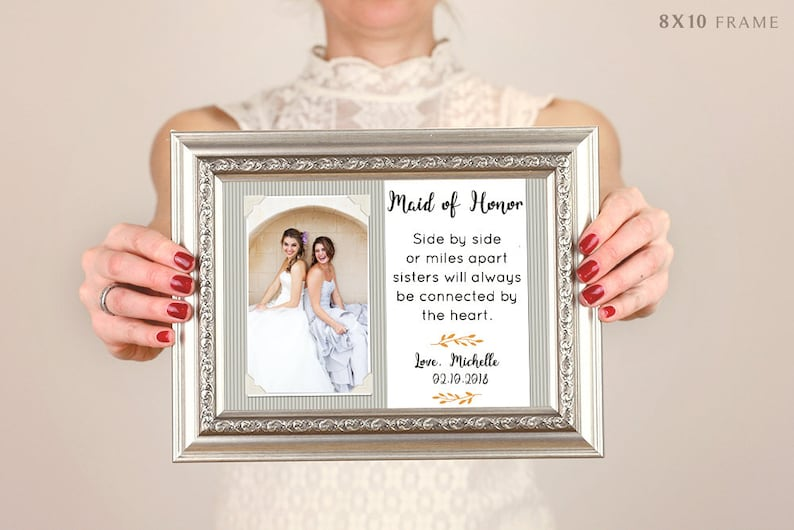 Good Friends Are Like Stars Sign Picture Frame Friend Gift Best Friend Gift Bridesmaid Gift For Bridesmaid Proposal