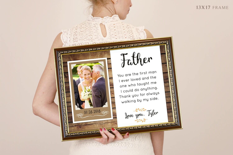 Vatertagsgeschenk für Papa Rahmen Papa Bilderrahmen | Etsy