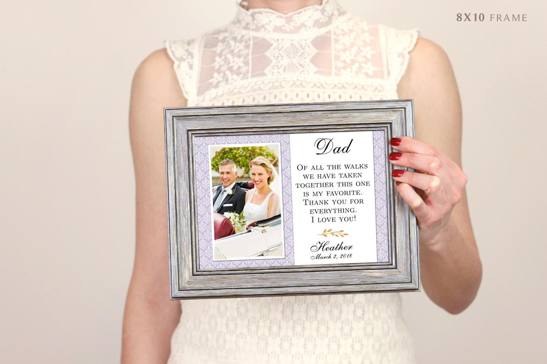 Vater der Brautgeschenk Vater der Braut-Rahmen