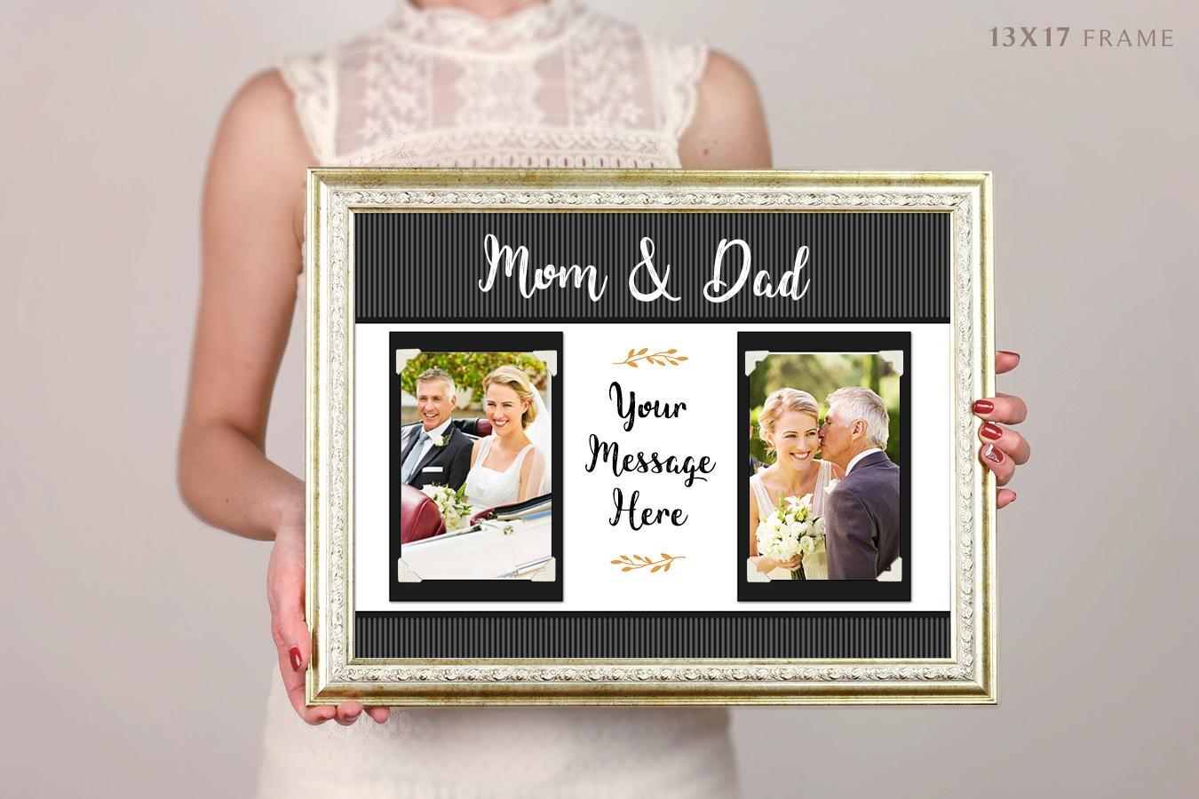 Übergeordnete Hochzeitsgeschenk personalisierte Bilderrahmen | Etsy