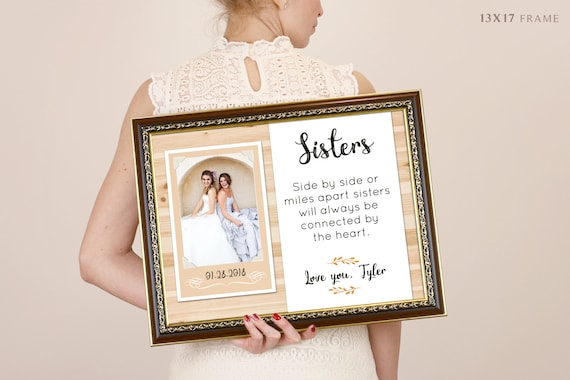 Instagram Frame Bridesmaid Gift Best Friend Sister Maid Of Etsy