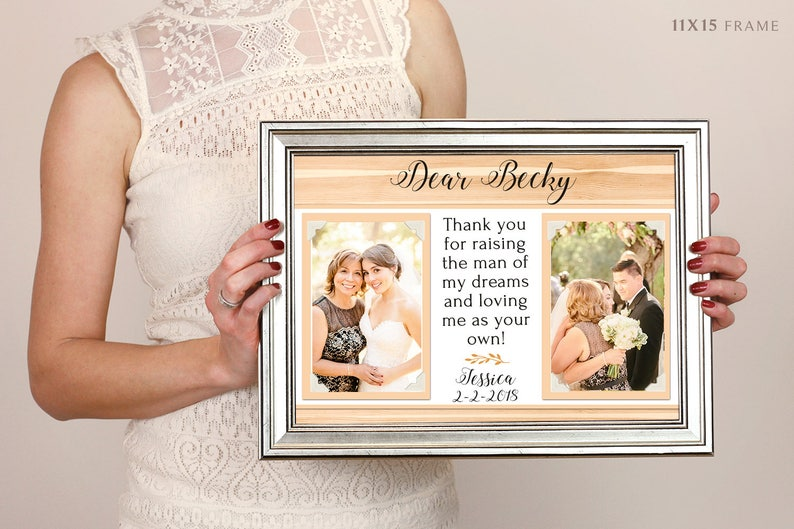 Mother Of The Groom Thank You Gift Parents Of The Groom Wedding Mother Of The Groom Thank You For Raising The Man Of My Dreams