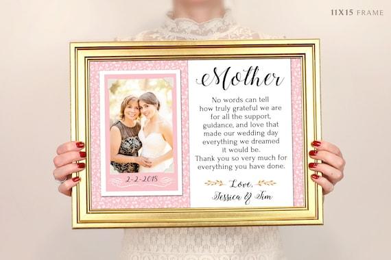 Geschenk Fur Eltern Danke Hochzeitsgeschenk Elter Der Etsy