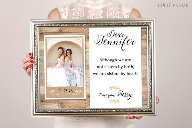 Bridesmaid Gift Bridal Party Gift Having A Sister Frames | Etsy