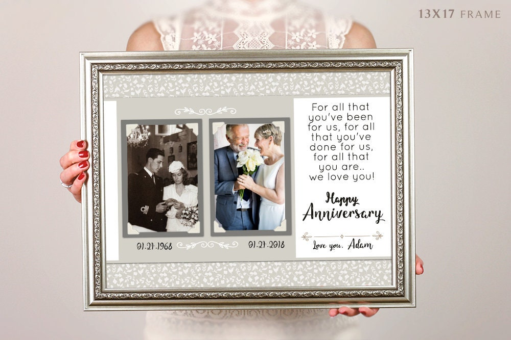 Silver Wedding Anniversary Gifts For Parents: 25th Anniversary Gifts For Parents Silver Anniversary Gift