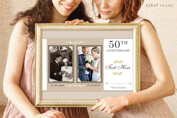 50th Anniversary Gifts Parents Anniversary Gift Gift For Etsy