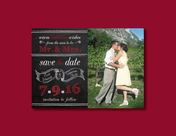 Wedding Announcements Valentine/'s Day Save The Dates LOVE Wedding Save The Dates Valentine/'s Day Wedding Valentine/'s